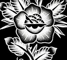 rose of pokey by pokeytattooer