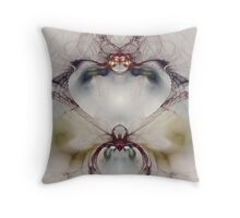Captive Heart Throw Pillow