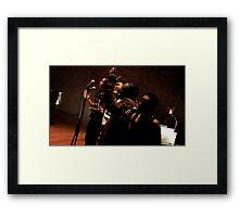 Akroama Framed Print
