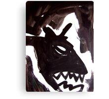 Horsey 4 Canvas Print