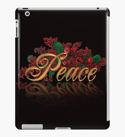 Peace for Christmas iPad Case/Skin