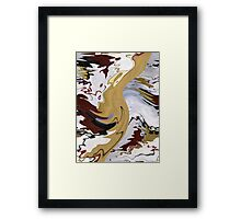 Reflections In The Stream Framed Print
