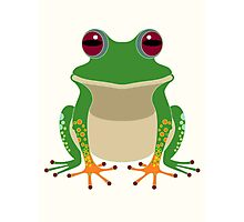 FINGERS & TOES FROG Photographic Print
