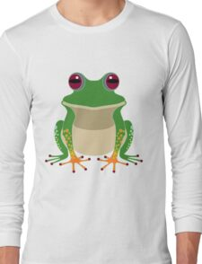 FINGERS & TOES FROG Long Sleeve T-Shirt