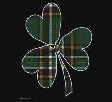 National Tartan of Ireland in Shamrock by Detnecs