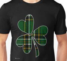 National Tartan of Ireland in Shamrock Unisex T-Shirt