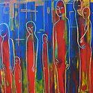 "ART by bec ""City Reaction"" by ARTbybec"