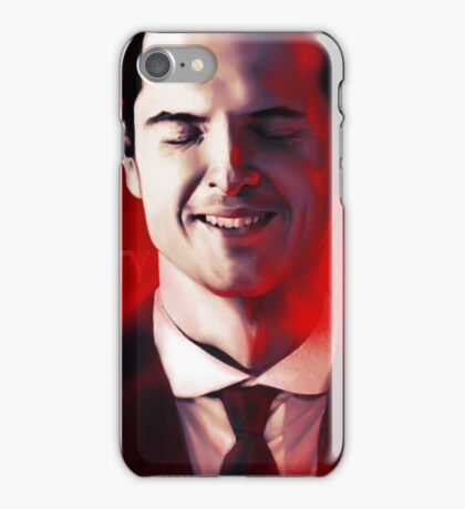 James Moriarty & Red iPhone Case/Skin
