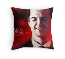 James Moriarty & Red Throw Pillow