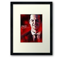 James Moriarty & Red Framed Print