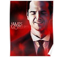 James Moriarty & Red Poster
