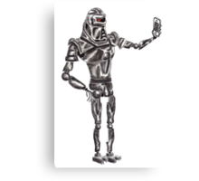 Cute Cylon taking a Selfie Canvas Print
