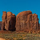Monument Valley Faces 2 by Randy Giesbrecht