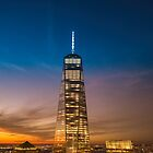 New York City Sunset and Skyline by Vivienne Gucwa