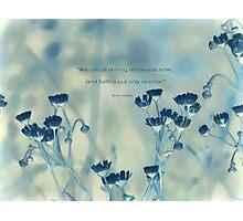 faith is an anchor-inspiration Photographic Print