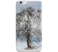 Nature and Geometry - The Sad Tree iPhone Case/Skin