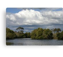 Riverscape Canvas Print