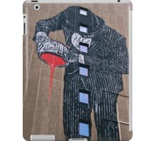 Economy in the red! iPad Case/Skin