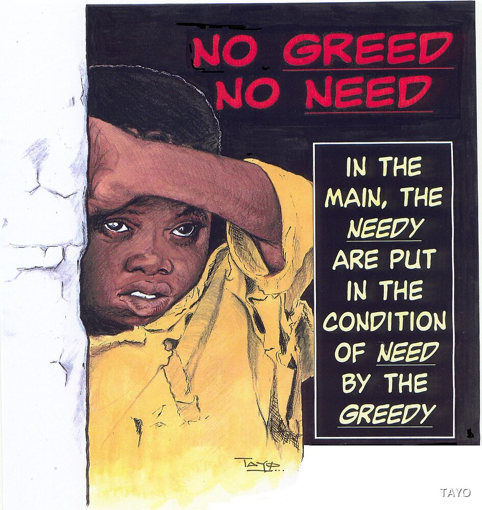 No Greed No Need by TAYO