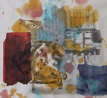 Brown eye by Catrin Stahl-Szarka