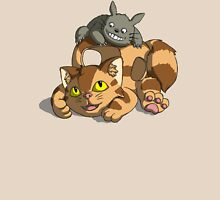 Totoro - Catbus Womens Fitted T-Shirt