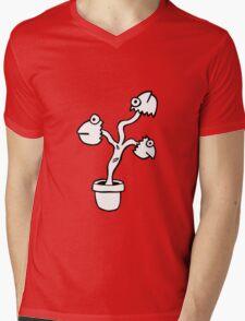 THE FISH HEAD PLANT Mens V-Neck T-Shirt