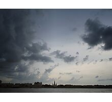 Clouds Over St. Louis Cathedral Photographic Print