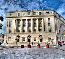 United States Post Office and Courthouse by Savannah Gibbs
