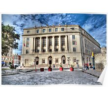 United States Post Office and Courthouse Poster