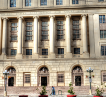 United States Post Office and Courthouse Sticker
