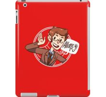 Another Allons-y!  iPad Case/Skin