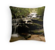 The Cascades Throw Pillow