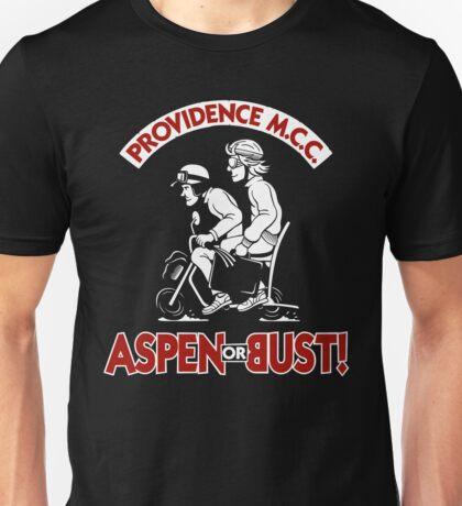 Aspen or Bust! Unisex T-Shirt