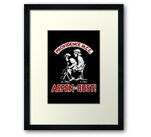 Aspen or Bust! Framed Print