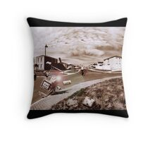 Trolley wont go home Throw Pillow