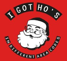I got ho's in different area codes - Santa Claus (father Christmas xmas) by bakery