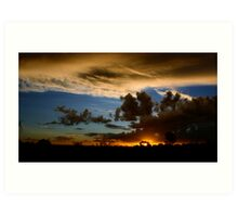 Outback canvas Art Print
