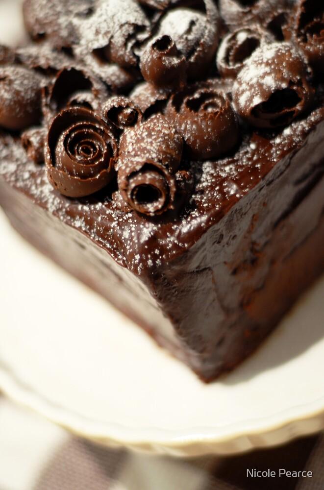 Home made mud cake by Nicole Pearce