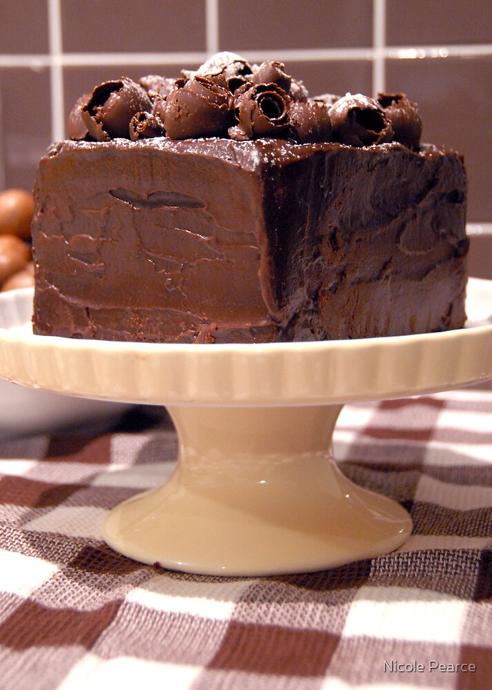 Mud cake by Nicole Pearce