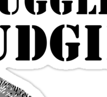 Stop smuggling budgies Sticker