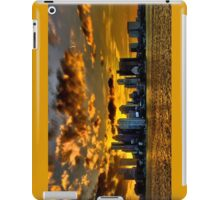 Sunset over Boston Harbor iPad Case/Skin
