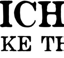 Avoid Clichés Like The Plague Sticker