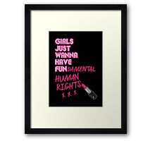 Fundamental Framed Print