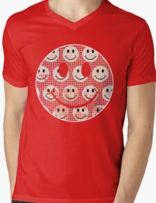 Agaric trip Mens V-Neck T-Shirt
