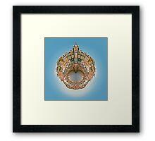 World in Oban Framed Print
