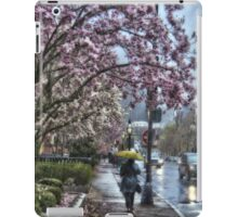 First Spring Rain iPad Case/Skin