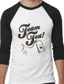 Team Tea! Men's Baseball ¾ T-Shirt