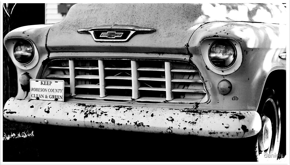 old chevy by daniels