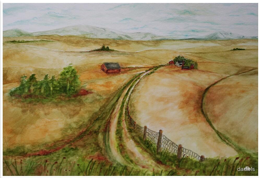 the farm road by daniels