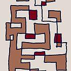 Brown Steps by Albert